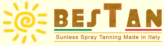 Sunless spray tanning Made in Italy, Bestan offers automatic spray tan machine to solarium, spa, wellness center and beauty salon, new Italian spray tanning technology for distributors. Better performance, comfortable and easy beauty tanning treatment at the very best price of the market. Italian natural cosmetics manufacturing to have the best tan experience, natural tanner for natural tanning BesTan Italy